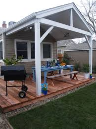 Diy Wood Patio Cover Kits by Tin Roof Covered Decks This Looks Too Rustic With So Much Wood