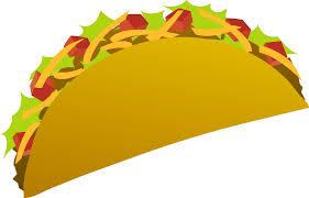 Vector Art of a Taco Free Clip Art