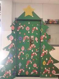 Christmas Classroom Door Decoration Pictures by Backyards Christmas Tree Door Decoration Decorations Pinterest
