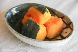 Japanese Pumpkin Pie Recipe by Kabocha No Nimono Simmered Pumpkin Recipe Japanese Cooking 101