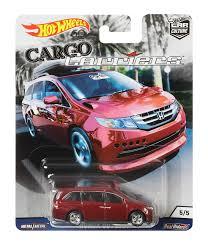 100 Hot Wheels Car Carrier Truck Go Riers Honda Odyssey 164 DieCast 55 Mattel