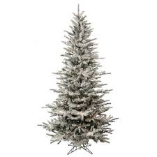 Pre Lit White Spruce Artificial Christmas Tree