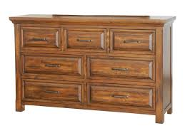 Napa Furniture Designs Hill Crest Rustic 7 Drawer Dresser with
