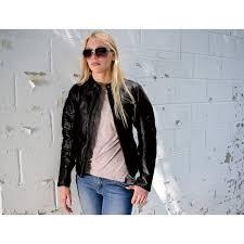 roland sands design maven women u0027s black leather jacket 633 916
