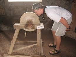 Idiom Of The Week Put Your Nose To Grindstone