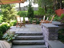 Patio Ideas: Backyard Patio Stone. Backyard Patio Stone Ideas ... Low Maintenance Simple Backyard Landscaping House Design With Patio Ideas Stone Home Outdoor Decoration Landscape Ranch Stepping Full Image For Terrific Sets 25 Trending Landscaping Ideas On Pinterest Decorative Cement Steps Groundcover Potted Plants Rocks Bricks Garden The Concept Of Designs Partial And Apopriate Fire Pit Exterior Download