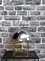 newroom vliestapete steintapete anthrazit ziegelstein backstein mauerwerk klinker tapete steinoptik wohnzimmer schlafzimmer flur tapete steinoptik