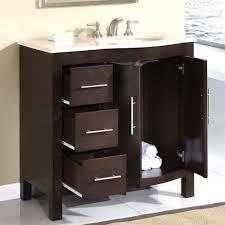Glacier Bay Bathroom Vanity With Top by Glacier Bay Ashland 36 In W X 19 D Bath Vanity Chocolate Ripping