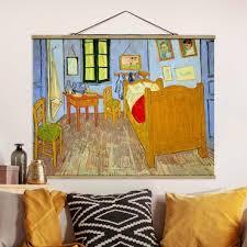 poster vincent gogh schlafzimmer in arles querformat 3 4