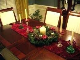 Holiday Dining Room Decorating Ideas Table Decorations