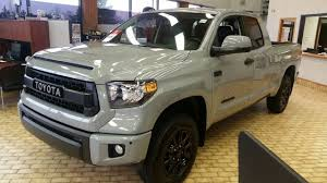 100 Truck Pro Memphis 2017 Toyota Tundra TRD Double Cab In Cement Grey Full Feature