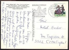 ältere postkarte gruss aus mürlenbach eifel hotel eifeler hof bei gerolstein muerlenbach schwan swan cygne ansichtskarte