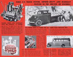 100 Best Ford Truck Engine 1935 Foldout