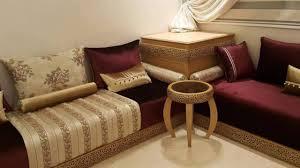 beau tissu pour salon marocain moderne avec tissu benchrif pour