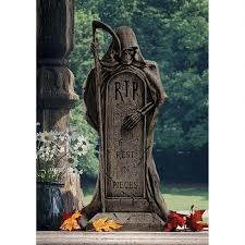 Funny Halloween Tombstones For Sale by Animated Halloween Witch Decoration