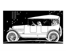Classic Cars Adult Coloring Book 1 Early American Automobiles
