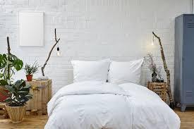 nachhaltig gestaltetes schlafzimmer