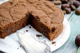 maronen schokoladen kuchen ohne mehl