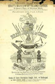 100 Bray Island Flyer For S Museum Of Curios C1891 The Dictionary Of