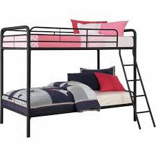 dorel dhp twin over twin metal bunk bed multiple colors walmart com