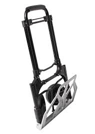 Foldable Luggage Trolley / Portable Folding Hand Truck And Dolly ... Sydney Trolleys Heavy Duty Platform Hand Trucks Folding Twowheel Special Application Convertible Northern Tool Equipment Shop Milwaukee 300lb Capacity Red Alinum Truck At 10 Best With Reviews 2017 Research Magna Cart Flatform Lowes Canada 440lb Stair Climbing Wheels Cart Dolly Industrial Pug Collapsible Stowaway 4062 Urchchairs4lesscom Relaxdays 55cm H X 83cm W 515cm D Foldable Trolley