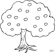 Click The Apple Tree Coloring Pages To View Printable Version Or Color It Online Compatible With IPad And Android Tablets