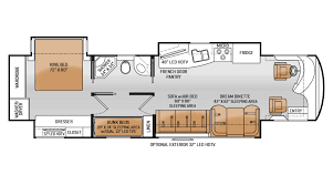 Rv Floor Plans With Bunk Beds Galleryhipcom The