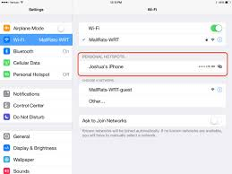 How to Use the iOS 8 Hotspot