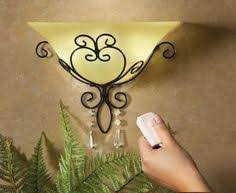 battery operated sconce light with led bulbs hang anywhere only