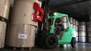 GRENDIA EX From Mitsubishi Forklift Trucks- Paper Clamp Application ...