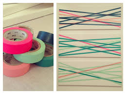 5 Ways To Decorate Wall With Washi Tape