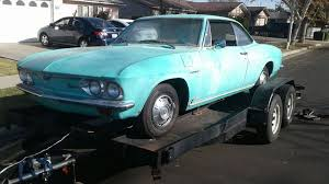 I'm Fixing Up This Chevy Corvair And Making Up Its Racing History As ... Corvair With A V8 Stuck In The Middle Engine Swap Depot For 4000 Pickup Twice The 1961 Chevrolet For Sale Classiccarscom Cc813676 1962 95 Rampside Barn Find Truck Patina Very Rare Sale On Bat Auctions Sold Affordable Classic 1964 Convertible Motor Trend 1963 Nice Original Ca Car Cars Auction Results And Sales Data Greenbrier Van Chevy Used Car Maricopa