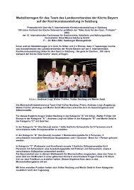 Bilder Fã R Kã Che Bei Medaillenregen Fã R Das Team Des Landesverbandes Der Kã Che