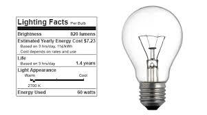 new light bulb labeling program coming soon inhabitat green