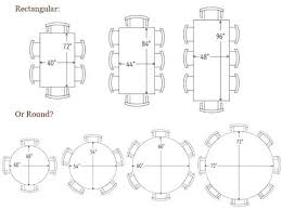 Astonishing Ideas Dining Room Table Dimensions Inspirational Brilliant Trendy Inspiration