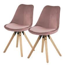 esszimmerstühle in rosa stühle fürs esszimmer kaufen home24