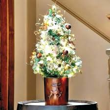 Target Trees Small Tree Tabletop Decorated Stand Image Trendy With Lights