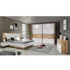 meduna komplett schlafzimmer material dekorspanplatte eichefarbig weiss