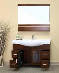 bathroom wonderful 18 inch deep vanity of depth within modern