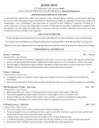 Sample Resume For Welder Best Images On Welding And Pipe