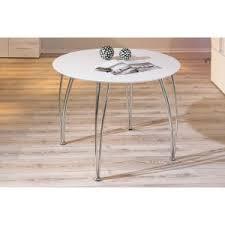 table cuisine pas cher table ronde moderne chic et élégante pas cher