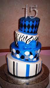 Sweet 15 birthday cake Teenage and Adult Cakes