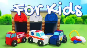 100 Toddler Fire Truck Videos Melissa Doug Rescue Garage Lock And Roll Toy Garage Review