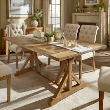 Shop Benchwright Rustic Pine Accent Trestle Reinforced Dining Table ... Amazoncom Laelhurst Slatback Side Chair With Wood Seat Rustic Yes This Is What I Want For My Ding Room Perfect Blend Of Tempe Ding Set Parsons Chairs Bronze Finish Kitchen Rustic 7 Pc Solid Wood Ding Table And Lvet Chairs Room Rooms Enchanting Room Table Formal Wall Centerpieces Bradleys Fniture Etc Utah And Mattrses Plans Decor Ideas Agreeable Modern Wood Kitchen Table Legs August Grove Laura Farmhouse Reviews Wayfair Tips To Mix Match Successfully A Rustic Round Surrounded By White Eames Chairs