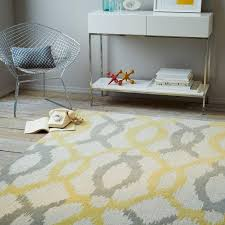 Yellow And Grey Rugs For Round Area Rugs Dining Room Rugs