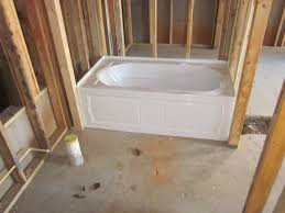 Kohler Villager Tub Rough In by Designs Winsome 5 Ft Jetted Tub 95 Princeton Above Floor Rough