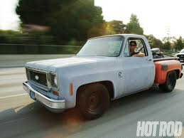 100 Stepside Trucks 1974 Chevy Muscle Truck Roadkill