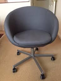 Skruvsta Swivel Chair Black by Ikea Skruvsta Swivel Desk Chair In Melton Mowbray