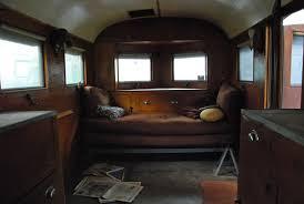 Old Travel Trailer Interior