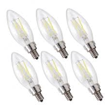 etoplighting 6 pack led filament 40 watt dimmable 120 volt e12